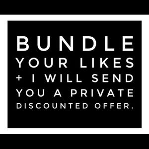 Other - Bundle and Receive Offer!!!